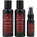 Marrakesh Marrakesh Travel Set (3.4oz Shampoo, 3.4oz Conditioner And 1oz Marrakesh Oil) for unisex by Marrakesh