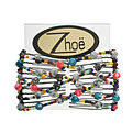 Zhoe Mini Double Hair Combs - Jamaica for unisex by Zhoe