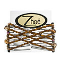 Zhoe Mini Double Hair Combs - Rumba for unisex by Zhoe